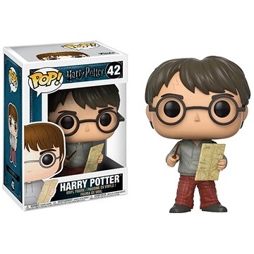 Funko Pop Movies: Harry Potter - Harry w/ Marauders Map (889698149365)