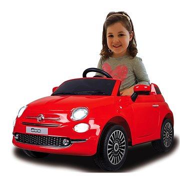 Jamara Ride-on Fiat 500 - červený (4042774449902)