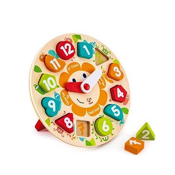 Hape Dětské puzzle hodiny (6943478018747)
