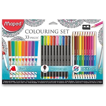 Maped Colouring, 33 ks (3154148974178)
