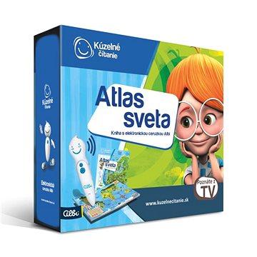 Kúzelné Čitanie - Atlas Sveta S Elektronickou Ceruzkou Albi SK (8590228023933)