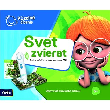 Kúzelné Čitanie - Svet Zvierat S Elektronickou Ceruzkou Albi SK (8590228023940)