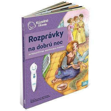 Kúzelné Čitanie - Kniha Rozprávky Na Dobrú Noc SK (9788089773084)
