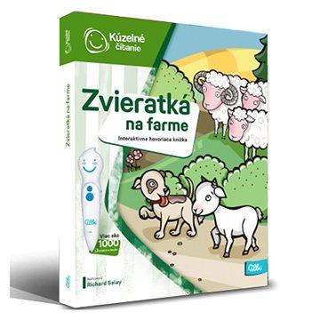 Kúzelné Čitanie - Kniha Zvieratká Na Farme SK (9788089773213)