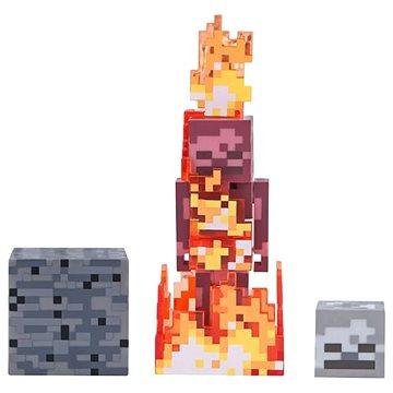 Minecraft Skeleton v ohni (681326199748)