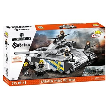Cobi 3034 Sabaton Primo Victoria z World of Tanks (5902251030346)