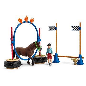 Schleich 42482 Závod v agility pro poníky (4055744029882)