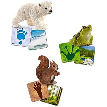 Schleich 42474 Vzdělávací kartičky - Wild life Schleich (4055744029813)