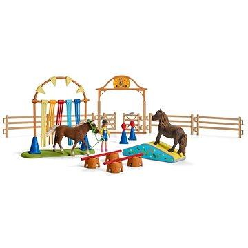 Schleich 42481 Trénink v agility pro poníky (4055744029875)