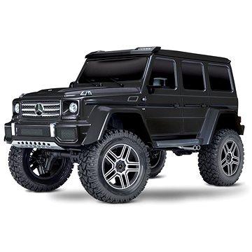 Traxxas TRX-4 Mercedes G500 1:10 TQi RTR s LED světly černý (020334821812)