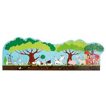 Scratch Velké podlahové puzzle Farma (5414561811114)