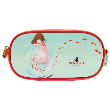 Kori Kumi Piped Pencil Case - Little Fishes (5018997411605)