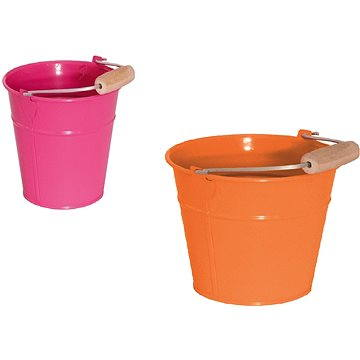 Kbelík oranžový/růžový (8591864914593)