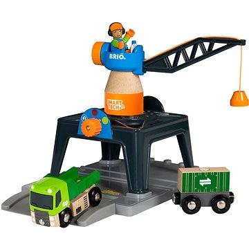 Brio 33962 Jeřáb Smart Tech (7312350339628)