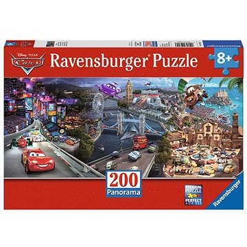 Ravensburger 126453 Disney Auta Panorama (4005556126453)