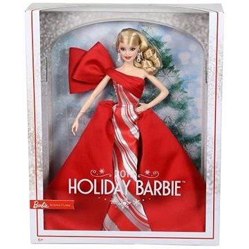 Barbie Vánoční panenka blondýnka (0887961689211)