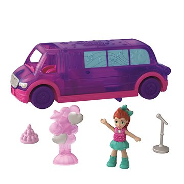Polly Pocket Vozidlo Party limo viree en limousine (ASRT0887961774993)