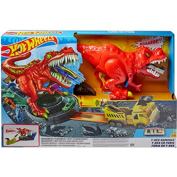 Hot Wheels City T-Rex řádí (0887961762563)