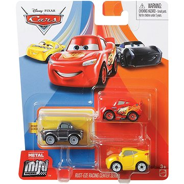 Cars 3 Mini auta 3ks (0887961825664)