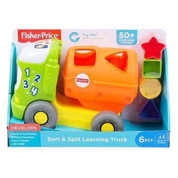 Fisher-Price Hudební autíčko vkládačka (0887961773156)
