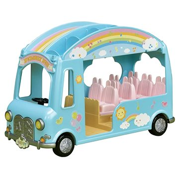 Sylvanian Families Duhový školkový autobus (5054131053171)