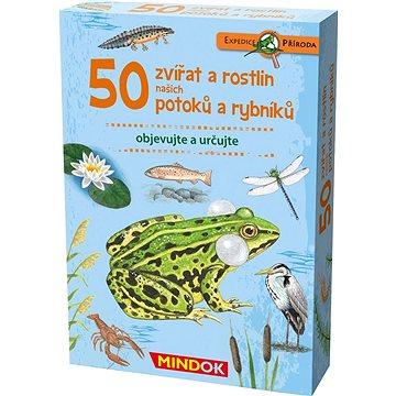 Expedice příroda: 50 zvířat a rostlin našich potoků a rybníků (8595558303434)