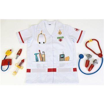 Doktorský oblek s doplňky (4009847043122)