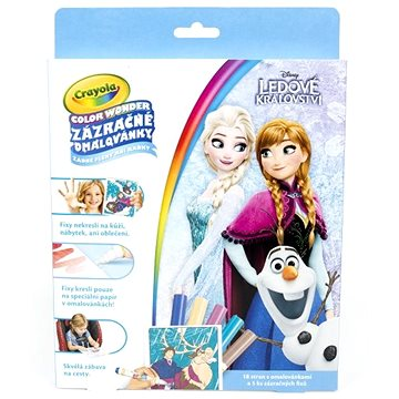 Crayola Zázračné omalovánky Frozen (8590228035448)