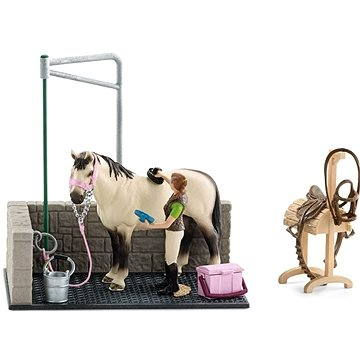 Schleich 42104 Mycí kout pro koně s příslušenstvím (4005086421042)