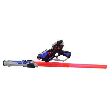Pistole + meč elektrický (8592386075946)