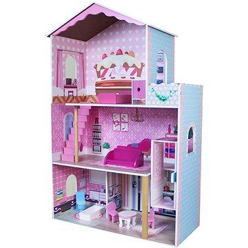 Dřevěný Domeček pro panenky (8592386093476)