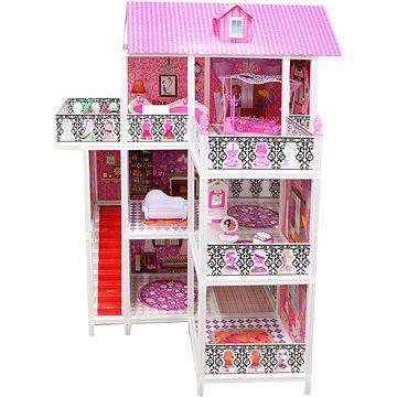 Domeček pro panenky třípatrový (8592386081794)