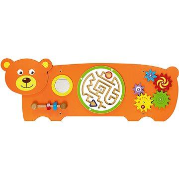 Dřevěná nástěnná hra - medvěd (6934510504717)