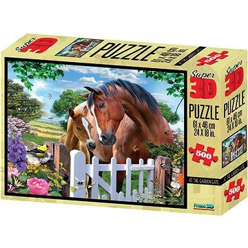 Puzzle Koně 3D (670889100469)