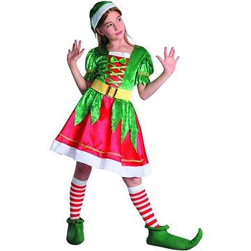 Šaty na karneval - skřítek (8590756038539)