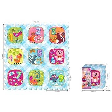 Puzzle - čísla se zvířátky (8590756901192)