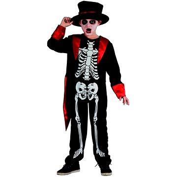 Šaty na karneval - kostra chlapec (8590756954914)