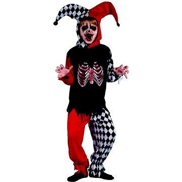 Šaty na karneval - šašek kostra (8590756955218)