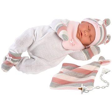 Llorens New Born spící 74058 (8426265740581)
