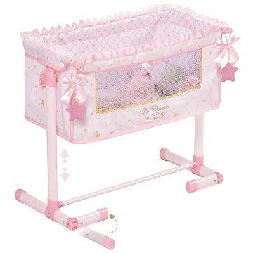 DeCuevas Toys Novorozenecká postýlka pro panenky s doplňky Maria (4897022512286)