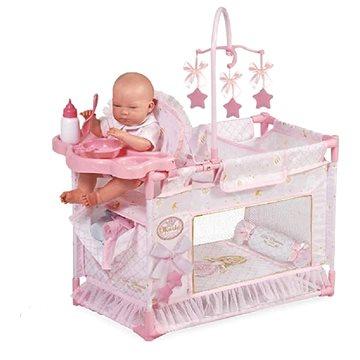 DeCuevas Toys Moje první skládací postýlka pro panenky Maria (4897022531287)