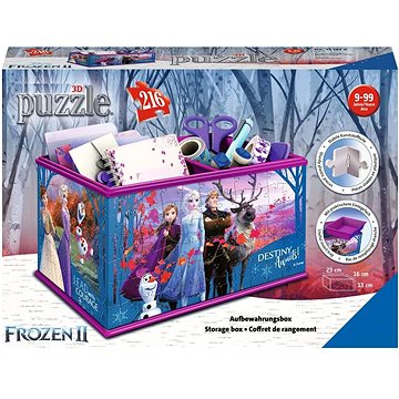 Ravensburger 3D 121229 Úložná krabice Disney Ledové králotvství 2 (4005556121229)