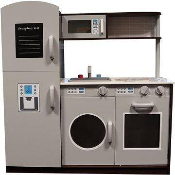 Dřevěná Kuchyňka s pračkou (8592386093483)