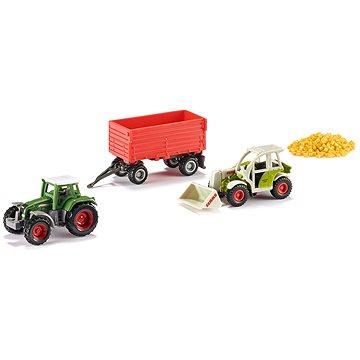 Siku Super – Set zemědělská vozidla + obilí (4006874063048)