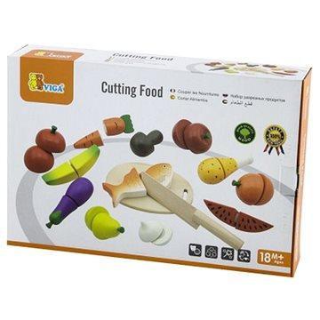 Dřevěné krájení - potraviny (6934510595609)