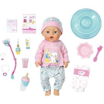 BABY born Bath Soft Touch Holčička s doplňky na čištění zubů (4001167827086)