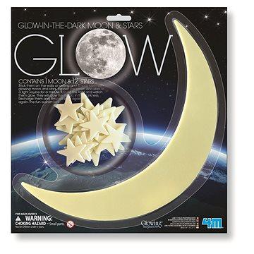 Svítící měsíc a hvězdy (8590439052159)