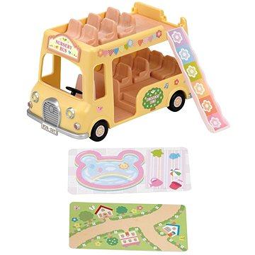 Sylvanian Families Dvoupatrový školní autobus (5054131052754)