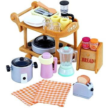 Sylvanian Families Vybavení – kuchyňské nádobí set (5054131050903)