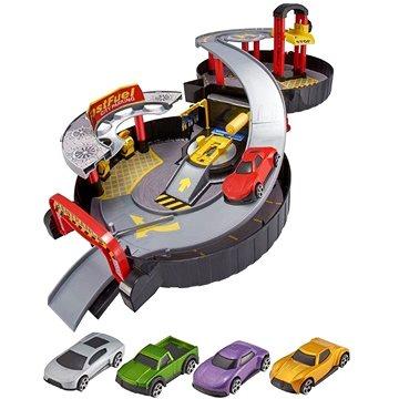 Teamsterz skládací garáž s autíčky (5050841648416)